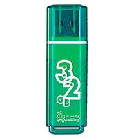 Флэш-диск USB 32Gb SmartBuy Glossy  Green SB32GBGS-G